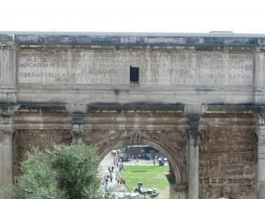 Triumphal Arch of Septimius