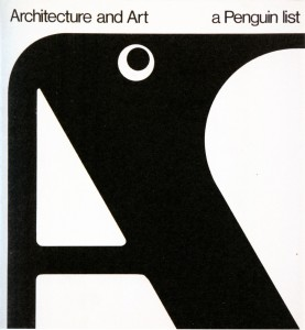 Cover design for Penguin Books 1967