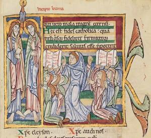 St Alban's Psalter