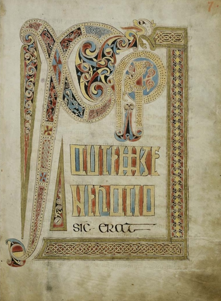 lindisfarne gospels Details from lindisfarne gospel illuminations many of the images of the lindisfarne gospels above are from the online gallery at the british library.