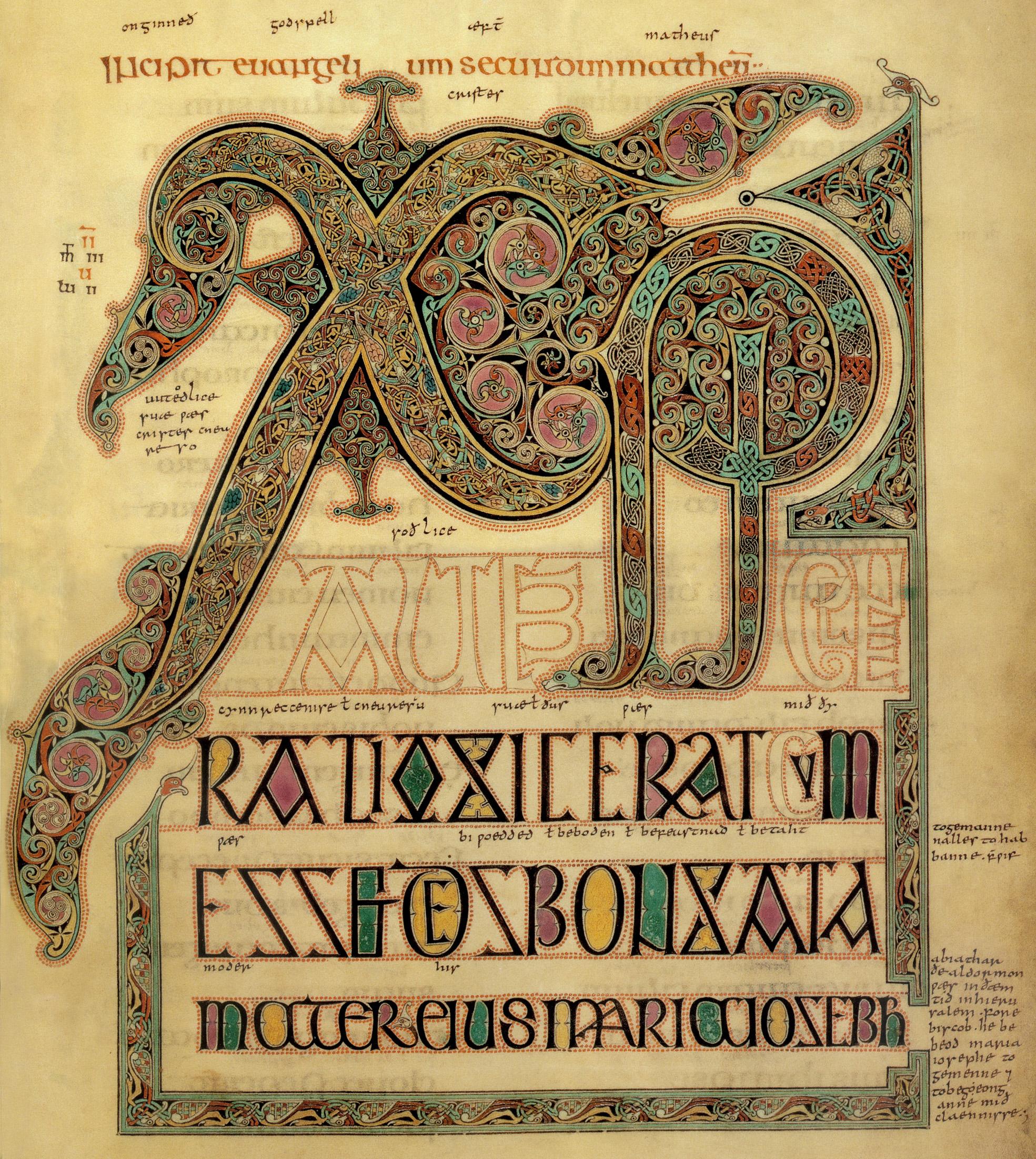 book of kells patricia lovett mbe