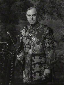 NPG x166117; Sir Anthony Wagner by Godfrey Argent