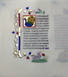 Page from Book of Hours