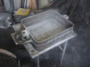 mould and white powder