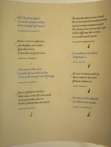 text on vellum