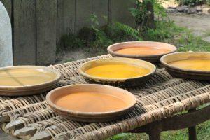 Guedelon paint (2)