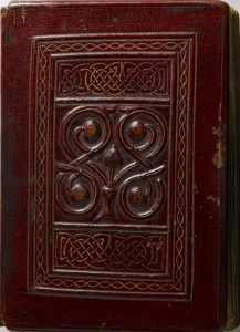 St Cuthbert Gospel, cover