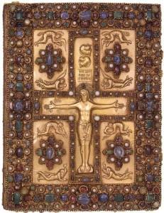 Lindau Gospels front cover