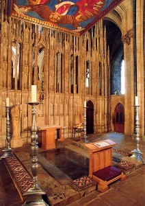 St Cuthbert's Shrine
