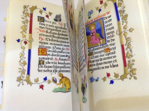 Book of Hours pages