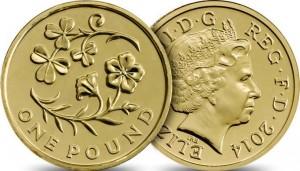 UK £1 NI 2014