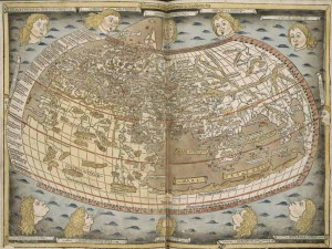 Ptolemy's world map