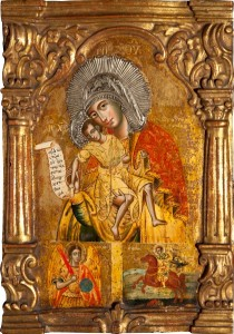 Icon of Eleousa, Blackburn Museum and Art Gallery