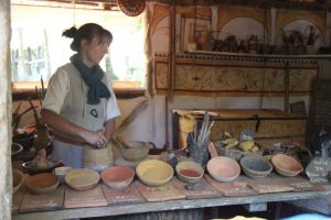 Guedelon paint (9)